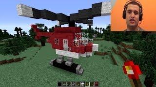 getlinkyoutube.com-Kako napraviti helikopter u Minecraftu??? [Srpski Gameplay] ☆ SerbianGamesBL ☆