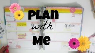 getlinkyoutube.com-Plan With Me   Erin Condren Horizontal Layout