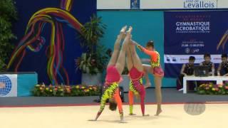 Gimnastică, evident acrobatică