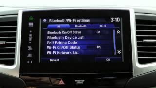 getlinkyoutube.com-2016 Honda Pilot Tips & Tricks: Next Generation HondaLink WiFi Settings