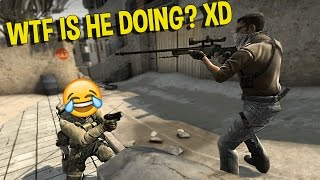 CS:GO SILVER FUNNY MOMENTS - WTF TROLLING SPAWN CAMPER, JUMPING COLLATERAL SNIPE ( FUNNY MOMENTS)
