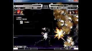 getlinkyoutube.com-Iori, Nao, Khriz, O-Iori (silver flames) vs Iori, Orochi Kyo, Kyo Kusanagi, Flames-Iori-Yagami