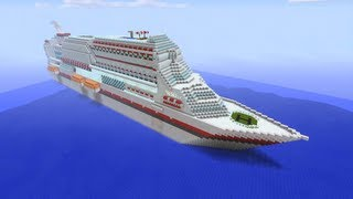 getlinkyoutube.com-Minecraft Xbox - Massive Cruise Ship