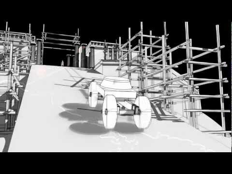 Acropolis Museum inauguration - the construction of the Parthenon