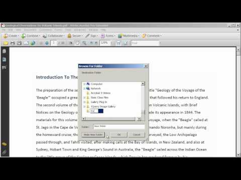 Editing PDF Document Pages in Adobe Acrobat 9