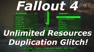 getlinkyoutube.com-Fallout 4 Infinite Resources Glitch / Exploit AFTER PATCH! Unlimited Resources! (Fallout 4 Glitches)