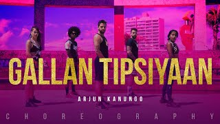 Gallan Tipsiyaan - Arjun Kanungo | Dance Video | Latest Hit Song 2017 | FitDance Channel