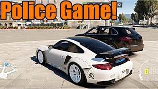 getlinkyoutube.com-Forza Horizon 2 | Undercover Cop Chase! 911 GT2 vs Cayenne Turbo Cop