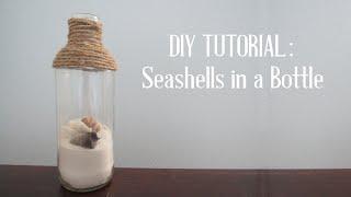 getlinkyoutube.com-Seashells in a Bottle DIY Tutorial