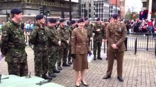 getlinkyoutube.com-British Army Soldiers Flashmob Gangnam Style!!!!