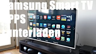 getlinkyoutube.com-Samsung Smart TV - Apps runterladen