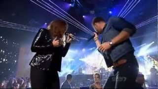 Lady Antebellum performing Need You Now on X Factor AU 2012 width=
