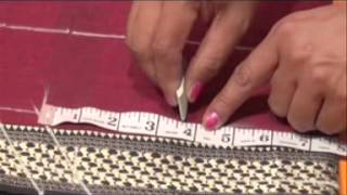 Top cutting and stitching