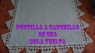 getlinkyoutube.com-PUNTILLA A GANCHILLO DE UNA SOLA VUELTA.