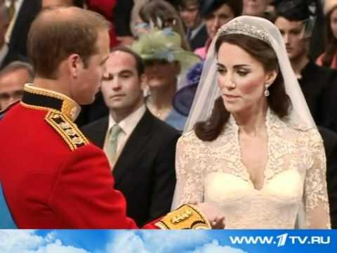 Відео церемонії весілля Англійського принца Вільяма