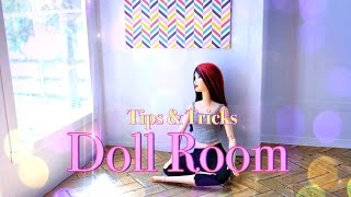 getlinkyoutube.com-DIY - How to Make:  Doll Room Tips & Tricks - In Depth - Handmade - Crafts - 4K