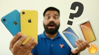 iPhone Xr Unboxing & First Look