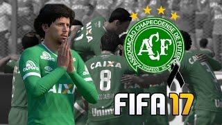 EL NOBLE GESTO DE FIFA 17 CON EL CHAPECOENSE
