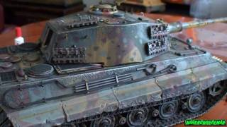 getlinkyoutube.com-German KING TIGER 1:16 scale full metal DIECAST model (Limited Edition)
