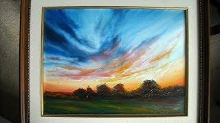 "getlinkyoutube.com-Oil Painting ""Sky"" with Svetlana Kanyo"