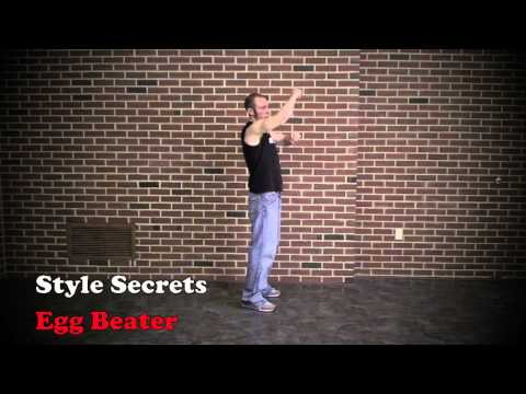 Egg Beater - Old School Hip Hop Dance 1 DVD