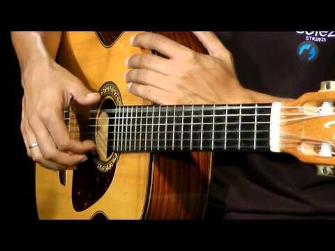 T�cnica de Dedilhado - Bai�o (aula de viol�o)