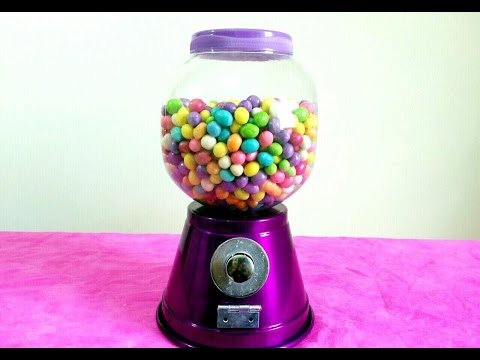 DIY: Candy Machine | Máquina de Doces por Kamila Macedo
