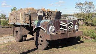 Самодельный грузовик с двигателем от трактора Т 40