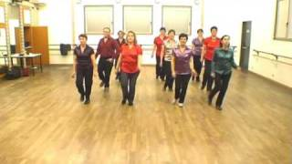 getlinkyoutube.com-Rock around the clock - country line dance