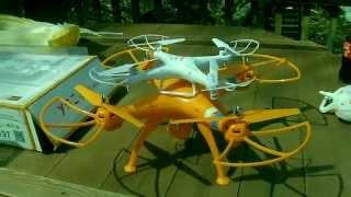 getlinkyoutube.com-The Syma x8C - Gamechanger? A big strong quadcopter capable of HD video?