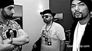 Preet - Haji Springer, Bohemia, Pree | Behind The Scenes | DesiHipHop.com