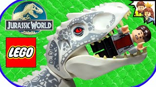 getlinkyoutube.com-LEGO JURASSIC WORLD Indominus Rex Breakout 75919 Build AND Review