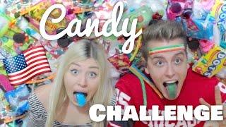 getlinkyoutube.com-AMERICAN CANDY CHALLENGE ♥ BibisBeautyPalace