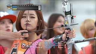 【TVPP】Girl's Day - W Archery Final, 걸스데이 - 여자 양궁 결승 @ Idol Star