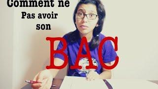 Comment ne pas avoir son BAC #Miss_Cha