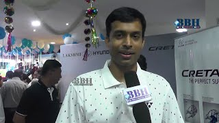 Pullela Gopichand Badminton Coach At Hyundai Creta - Bigbusinesshub.com