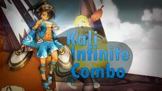 Lost Saga Infinite Combo with Kali