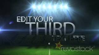 getlinkyoutube.com-After Effects Template - Soccer Ball Shattering Glass With 3D Text