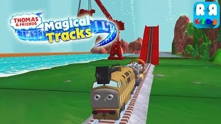 getlinkyoutube.com-Thomas and Friends: Magical Tracks - Kids Train Set - Play with Diesel 10