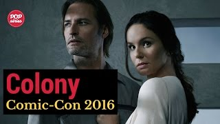 SDCC 2016: Josh Holloway e Sarah Wayne Callies de Colony