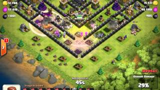 getlinkyoutube.com-Th 9 Version Of Clash with Cam's Anti-Golem Trophy/War Base Build (With 4 Mortars) WITH PROOF