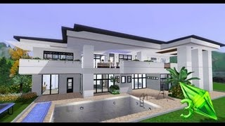 getlinkyoutube.com-The Sims 3 House Designs - Modern Elegance