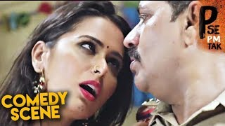 P Se Pm Tak Comedy Scene | Hindi Movie | Meenakshi Dixit, Indrajeet Soni, Bharat Jadhav | HD 1080p