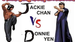 Jackie Chan vs Donnie Yen   5 Film yang Mempertemukan Dua Master Kungfu 1