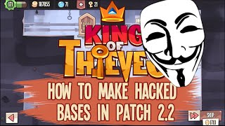 getlinkyoutube.com-King of Thieves: How to Make Hacked Bases in Patch 2.2
