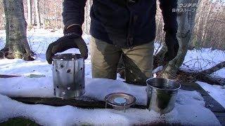 getlinkyoutube.com-【自作自炎】固形燃料は屋外で使い物になるのか【低温】