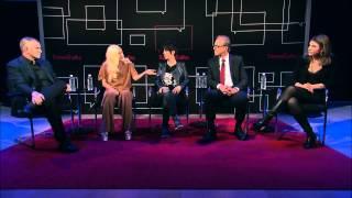 "getlinkyoutube.com-""The Hunting Ground"": Lady Gaga, Diane Warren, Kirby Dick, Amy Ziering | Interview | TimesTalks"