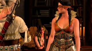 getlinkyoutube.com-The Witcher 3 - Final Preparations: Margarita & Philippa Pressure Ciri to Join Lodge of Sorceress