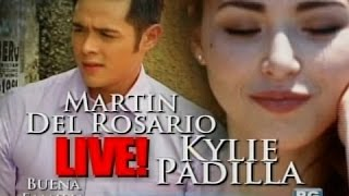 getlinkyoutube.com-Startalk: Kylie Padilla and Martin Del Rosario, live!