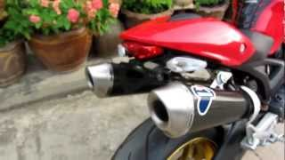 getlinkyoutube.com-ducati monster 795 Termignoni Exhaust